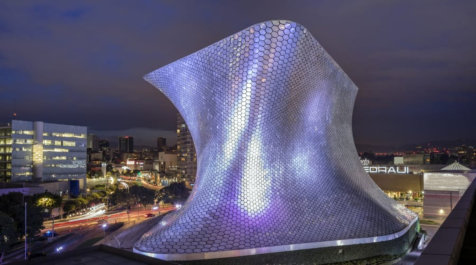 Museum Soumaya at night