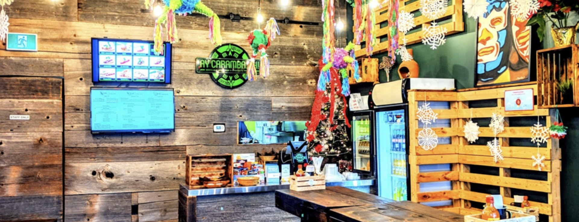 inside view of the store