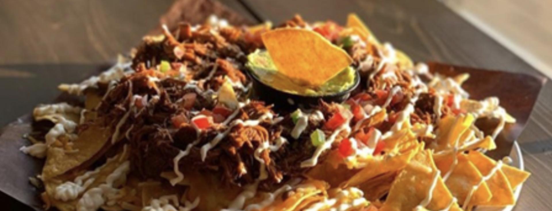 Chilaquil Nachos